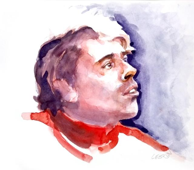 Jacques Brel by Lebrun